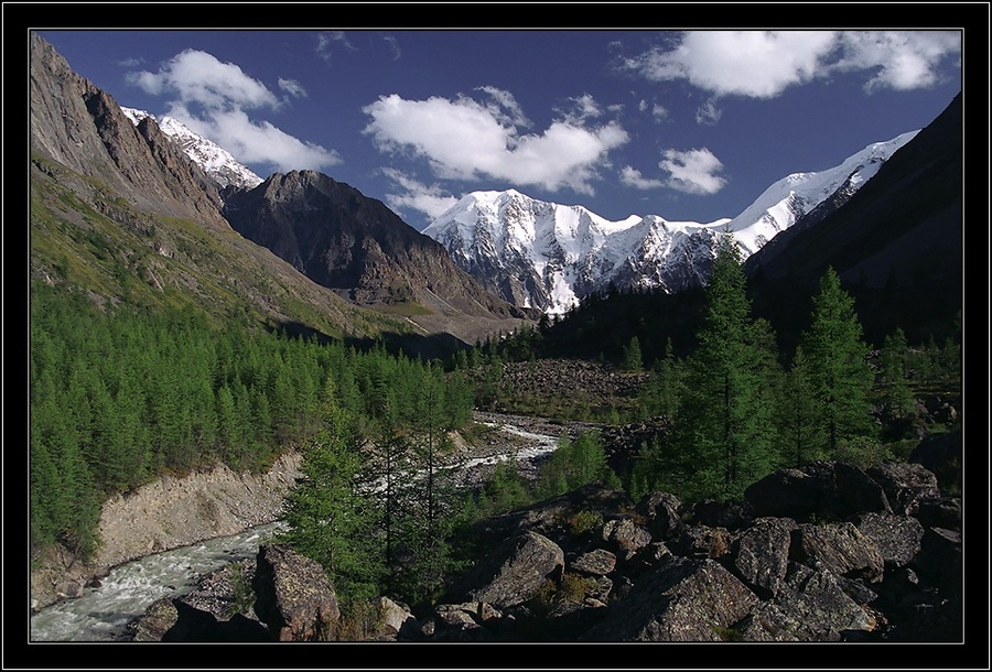 valley mashej | valley, mountains, river, forest
