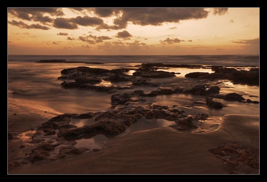 sea... | sea, sepia, sand, sky, shore