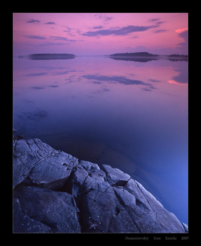 hyperborean dreams | dusk, rock, sea, forest
