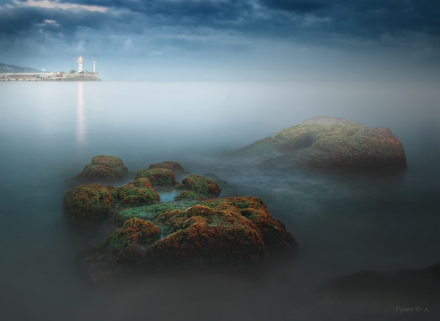 Yalta. The Phantoms of the Black Sea. | beacon, Crimea, black, sea, phantoms, Yalta
