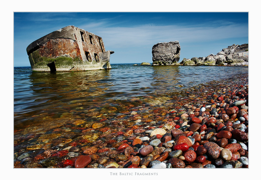 The Baltic Fragments | ruins, rocks, sea, shore, rock