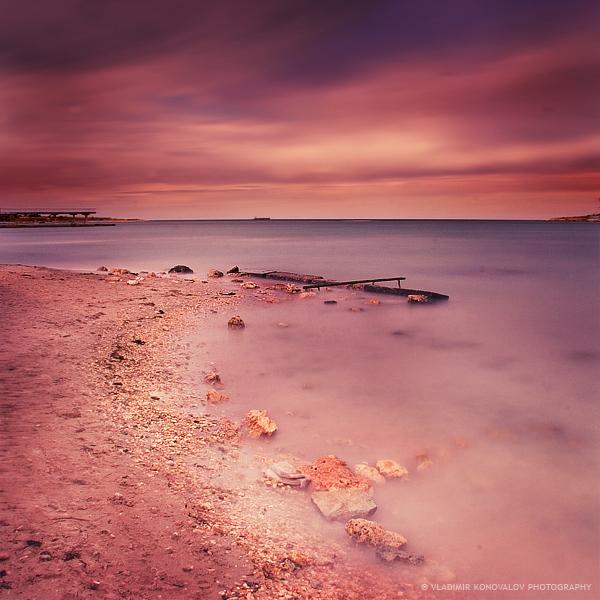 120 seconds on Omega cape | cape, shore, sea, sky