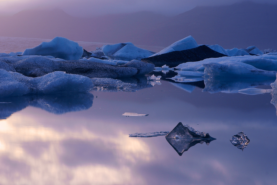 Ice Dream | mist, ice, sea