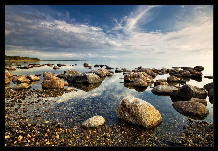 Summer | shore, rocks, sea