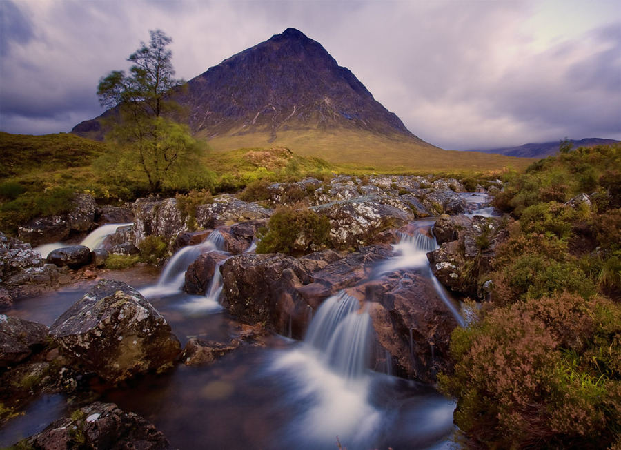 Scotland | rocks, river