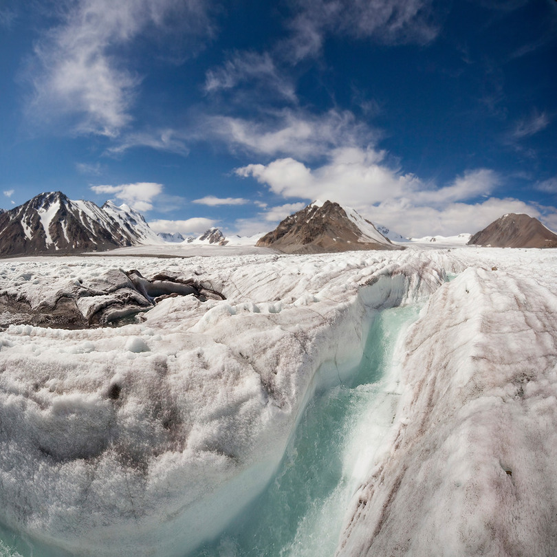 About a life of the glacier | winter, ice, rocks, snow