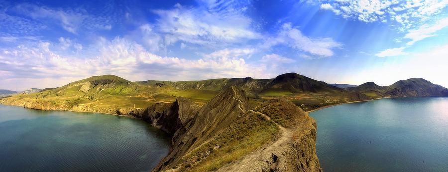 Cape Chameleon | cape, panorama, sky, sea