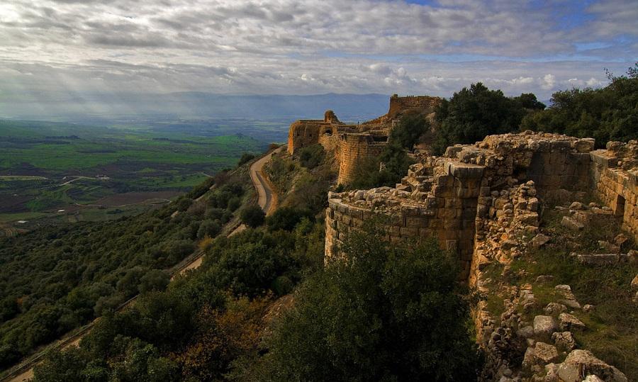 Nimrod | panorama, valley, ruins