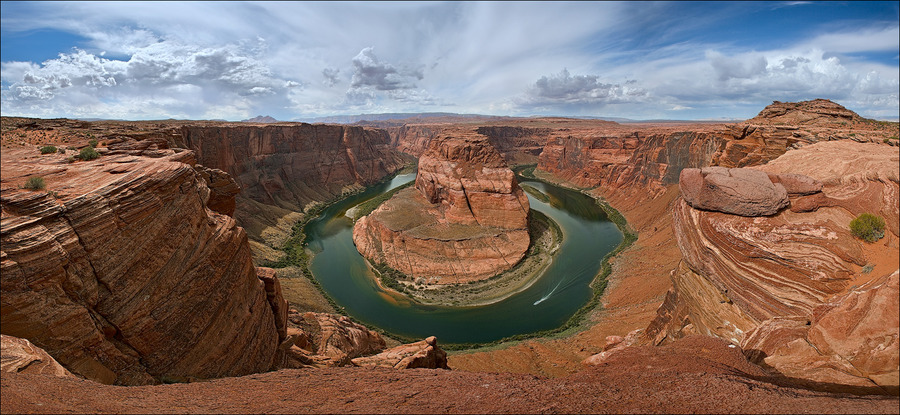 Colorado river - horseshoe | canyon, panorama, river