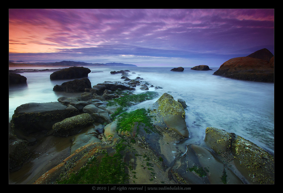 Oregon Dreaming | rocks, sea, surf