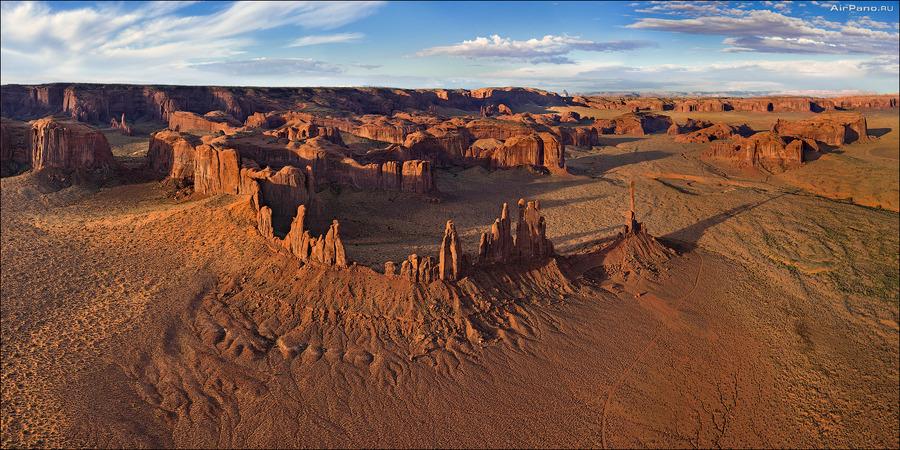 Yei-Be-Chei | canyon, panorama, desert