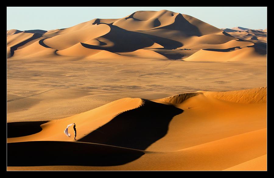Sand infinity | sand, desert, Libya