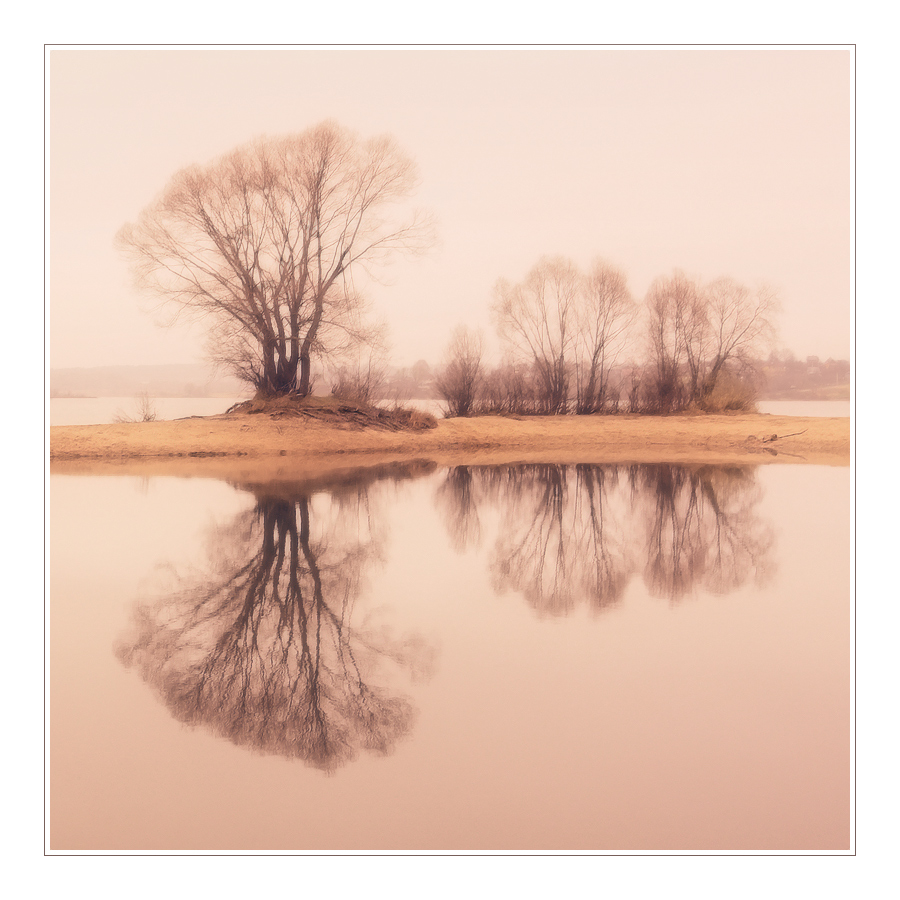 watercolor autumn | water, autumn, reflection