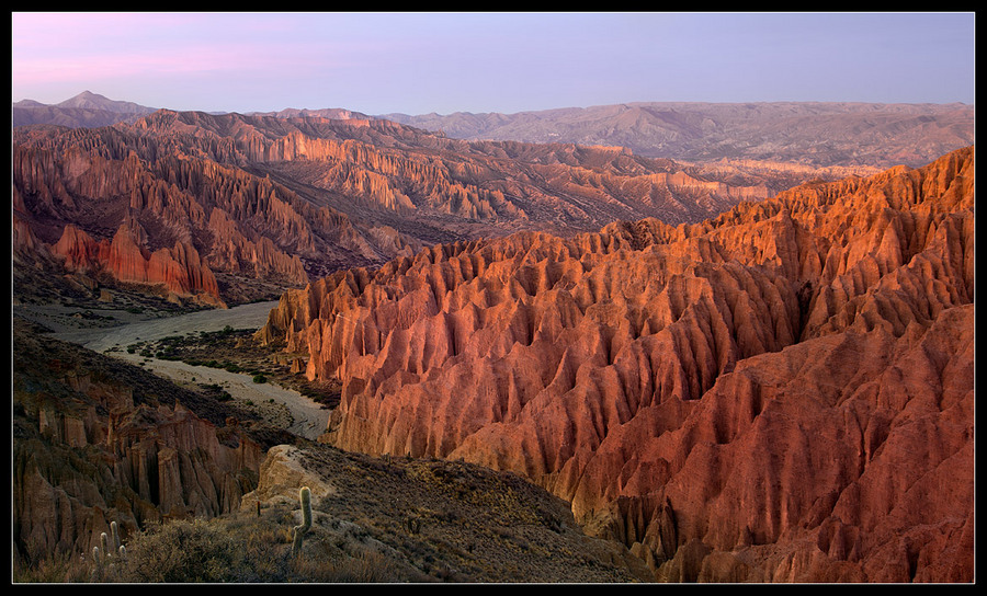 Red Canyon Bolivia | sunset, canyon, sky