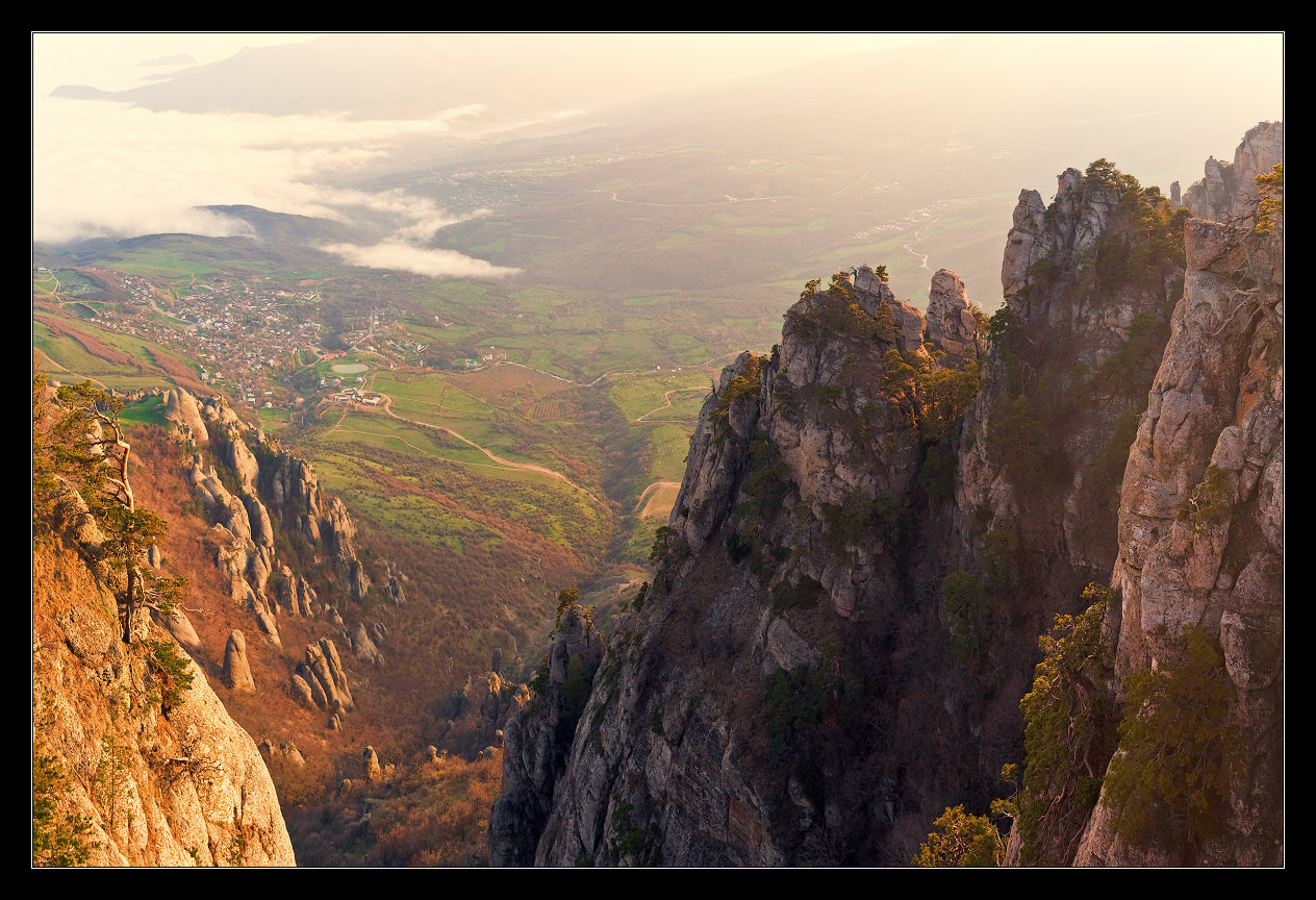 Mountains, Crimea | landscape, outdoor, nature, mountain, height, Crimea, valley, cliff, sunny day, air