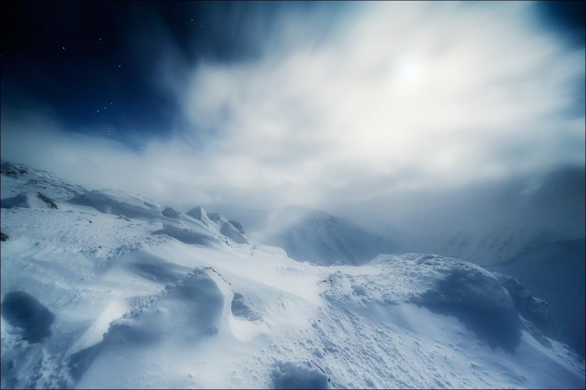 To the top...  | snowy peaks, sky, rock, hillside