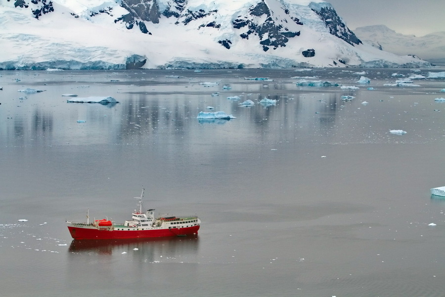 Antarctic notes | shore, water, ice, sea, ship