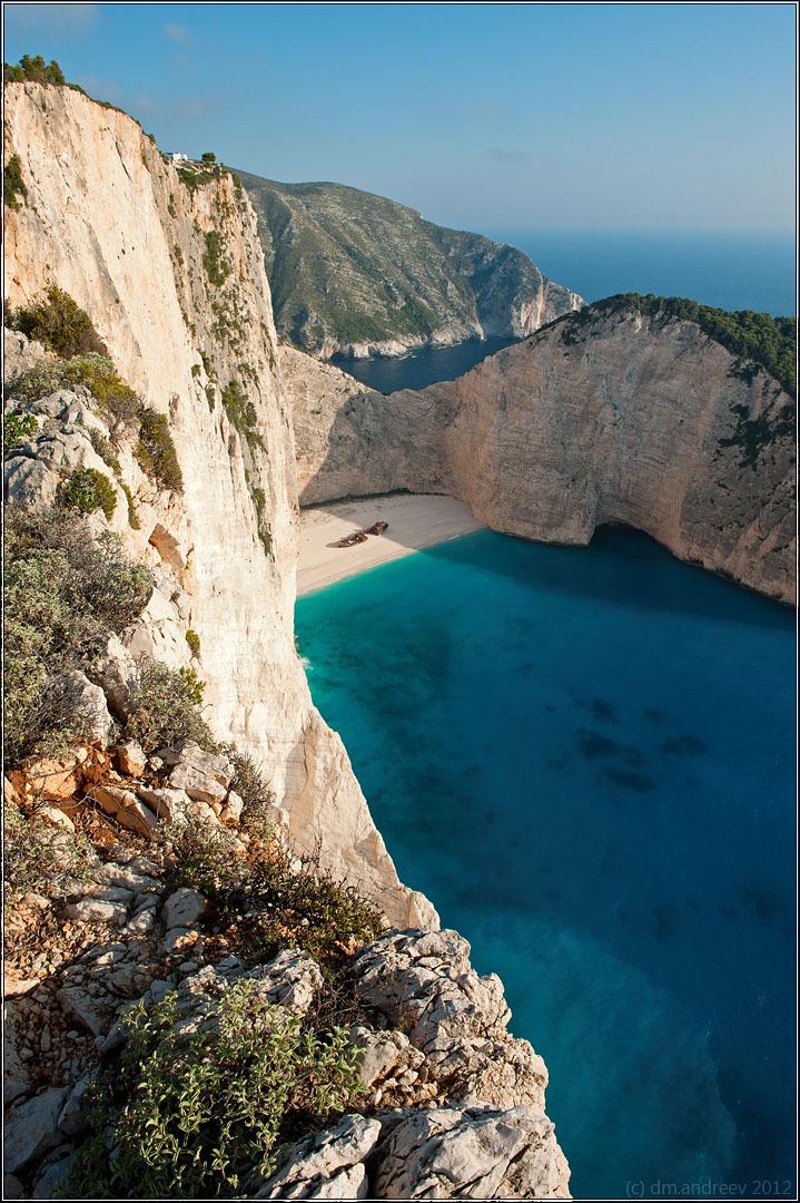 Navagio bay | bay, coast, sea, cliff