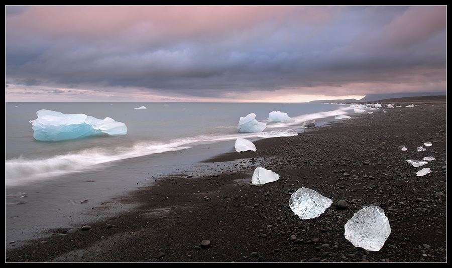 Ice of Iceland | ice, Iceland, shore, ocean