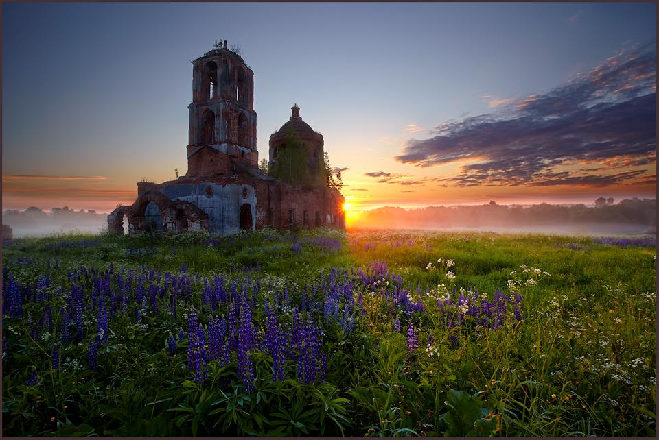 abandoned church | church